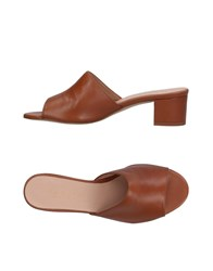 Marian Sandals Brown