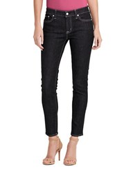 Lauren Ralph Lauren Skin Fit Five Pocket Jeans Asphalt