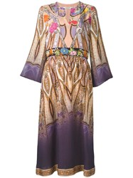 Etro Scarf Print Tunic Dress