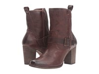 Trask Becca Brown Italian Metallic Washed Sheepskin Women's Boots