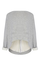 Maticevski Occurrence Cropped Sweater Light Grey