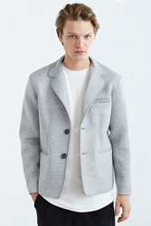 Urban Outfitters Structured Blazer Charcoal