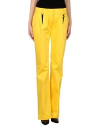 Class Roberto Cavalli Trousers Casual Trousers Women Yellow