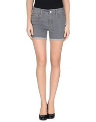 Liu Jeans Denim Shorts Grey