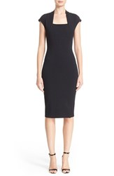 St. John Women's Collection Embellished Luxe Sculpture Knit Dress