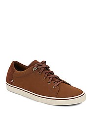 Ugg Brock Lace Up Sneakers Dark Chocolate