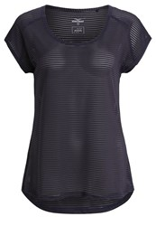 Venice Beach Damaris Sports Shirt Black Iris Anthracite
