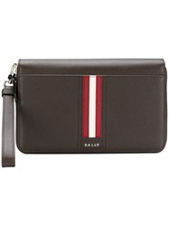 Bally All Around Zipped Wallet Brown