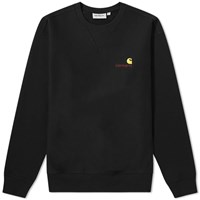 Carhartt American Script Sweat Black