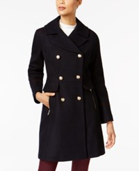 Vince Camuto Double Breasted Peacoat Navy