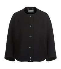 Chloe Short Wool Jacket Female Black