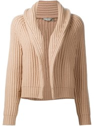 Vince Shawl Collar Cardigan Nude And Neutrals