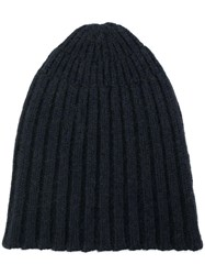 Roberto Collina Knitted Beanie Blue