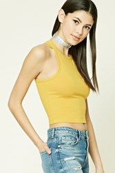Forever 21 Stretch Knit Racerback Tank