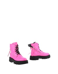 Bruno Bordese Ankle Boots Fuchsia