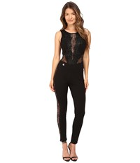 Philipp Plein Sleeveless Jumpsuit Black Women's Jumpsuit And Rompers One Piece
