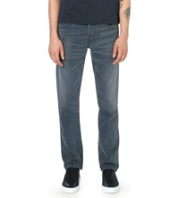 Citizens Of Humanity Slim Fit Straight Cut Bad Lands Jeans Grey Wash