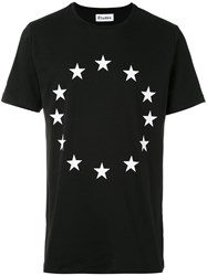 Etudes Star Printed T Shirt Men Cotton S Black