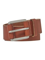 Howick Leather Tab Jeans Belt Tan