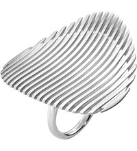 Georg Jensen Lamellae Sterling Silver Ring