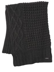 Diesel Cable Knit Scarf