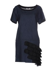 Jucca Short Dresses Dark Blue