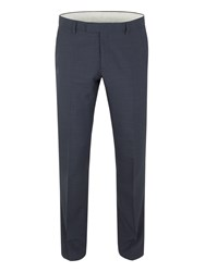 Racing Green Ward Puppytooth Tailored Trouser Navy