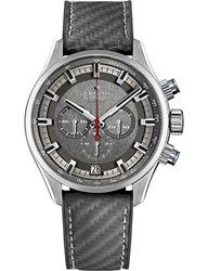 Zenith 03.2282.400 91.R578 El Primero Sport Stainless Steel And Rubber Watch