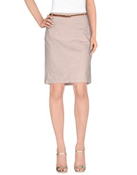 Fabiana Filippi Skirts Knee Length Skirts Women Light Pink