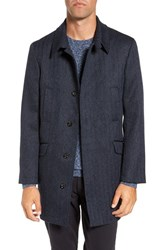 Rodd And Gunn Men's 'Garlands' Herringbone Wool Tweed Overcoat