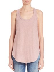 Wilt Shrunken Shirttail Tank Top Shrimp