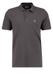 Selected Homme Shdaro Polo Shirt Pavement Stone