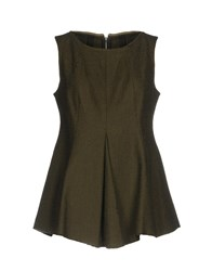 Collection Privee Tops Military Green
