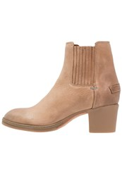 Shabbies Amsterdam Ankle Boots Light Brown