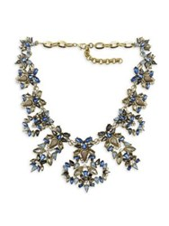 Belle By Badgley Mischka Blue Sky Crystal Statement Necklace
