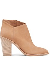 Vince Easton Nubuck Ankle Boots Sand