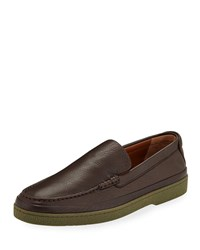 Ermenegildo Zegna Oasi Soft Loafers Brown