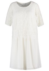 Junarose Jrjyle Cocktail Dress Party Dress Snow White Off White