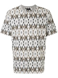Joseph All Over Diamond Print T Shirt 60