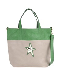 Thierry Mugler Large Fabric Bags Green
