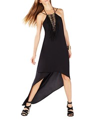 Bcbgmaxazria Hi Lo Maxi Dress Black