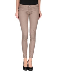 Jcolor Denim Pants Khaki