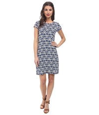 Hatley T Shirt Dress Batik River Tweed Women's Dress Gray