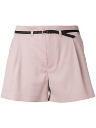 Guild Prime Front Pleat Shorts Pink Purple