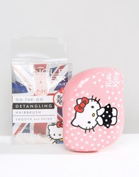 Tangle Teezer Hello Kitty Compact Styler Brush Pink Spot
