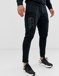 Canterbury Of New Zealand Stretch Tapered Jogger In Triple Black