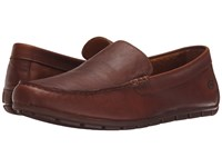 Born Allan Light Tan Full Grain Leather Men's Slip On Shoes Brown
