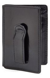 Bosca Men's 'Old Leather' Front Pocket Id Wallet Black