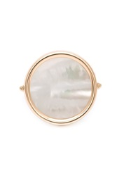 Ginette_Ny Ginette Ny Mother Of Pearl Ring White