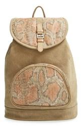 Toms 'Departure' Print Canvas Backpack